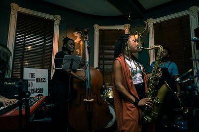 Nubya Garcia Quintet - Live from The Brass & Crimson Leeds 24.08.16 Radio Episode