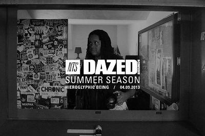 Hieroglyphic Being - Dazed Summer Season 04.09.13 Radio Episode