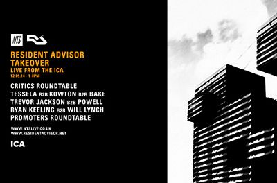 Promoters Round Table - Resident Advisor Takeover Live From The ICA  12.05.14 Radio Episode