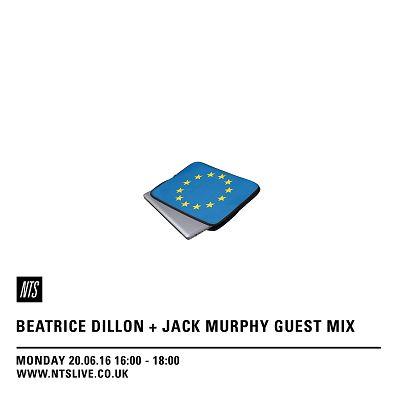 Beatrice Dillon & Jack Murphy 20.06.16 Radio Episode