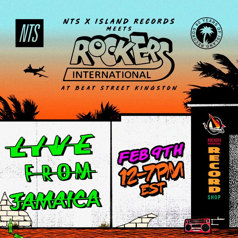 NTS x Island Records meet Rockers International at Beat Street in Kingston, Jamaica events Image