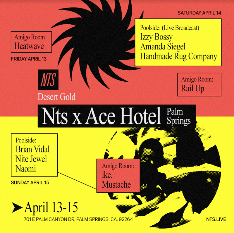Desert Gold: NTS x Ace Hotel Palm Springs events Image
