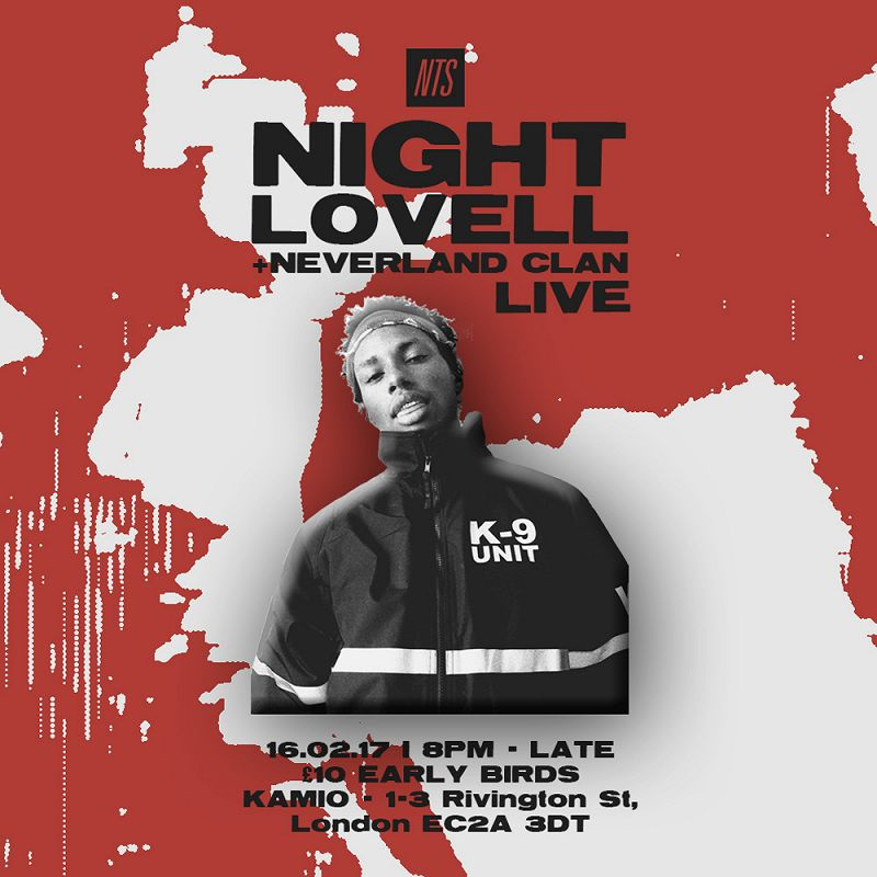 NTS Presents Night Lovell events Image