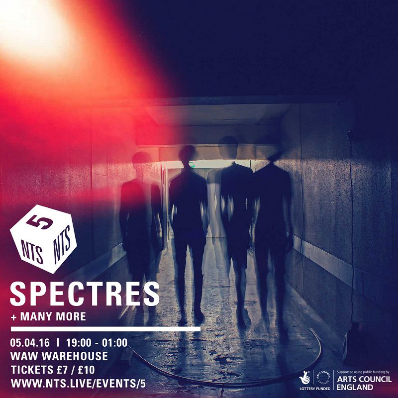 NTS is 5: Spectres editorial Image