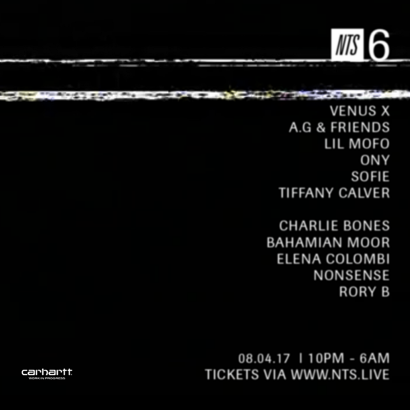NTS 6th Birthday events Image