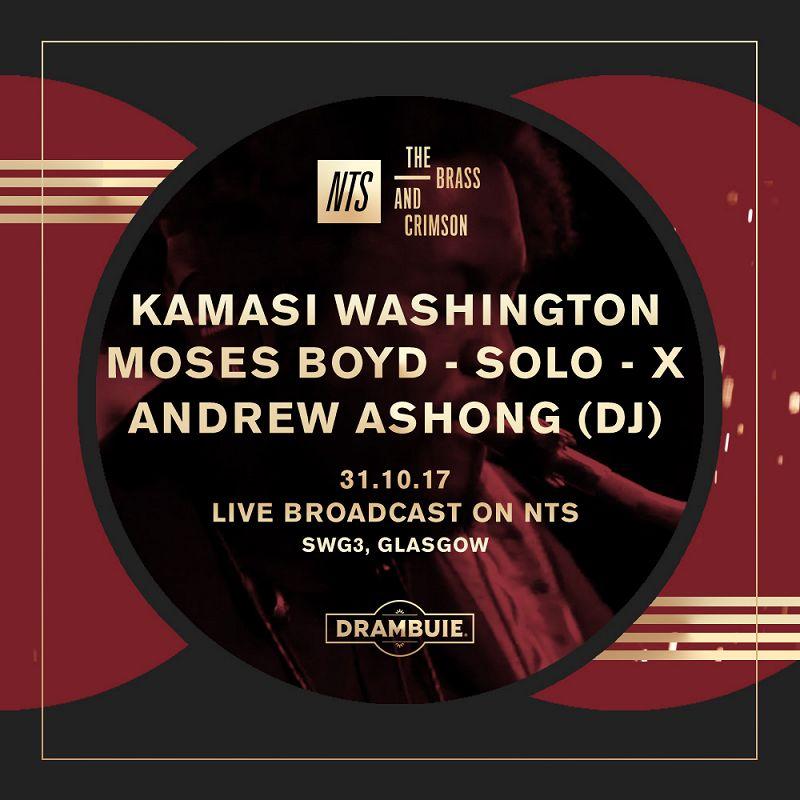 Kamasi Washington, Moses Boyd & Andrew Ashong: The Brass & Crimson events Image
