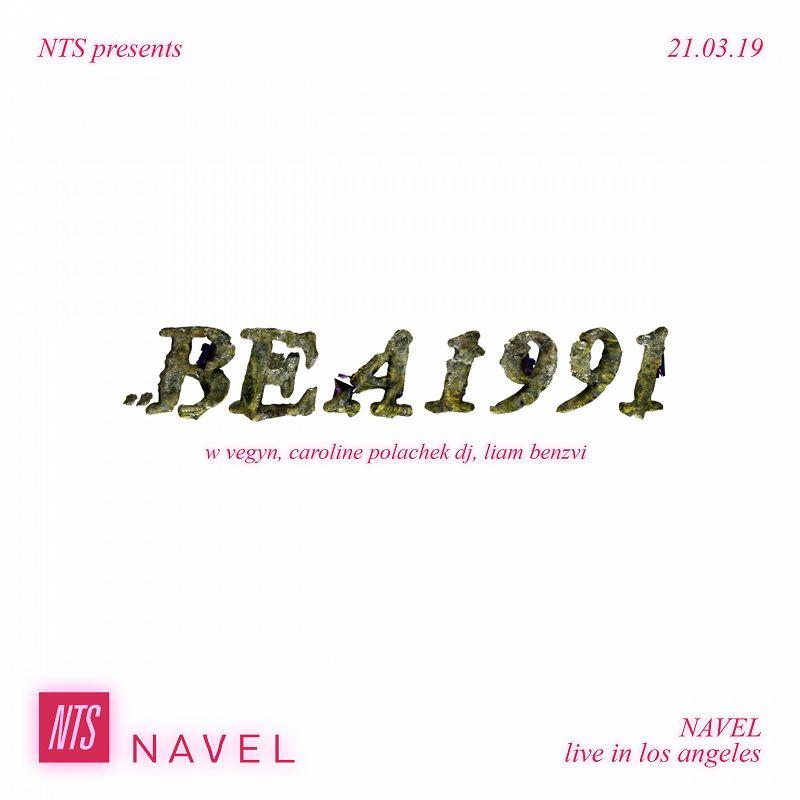 NTS Presents Bea1991 events Image