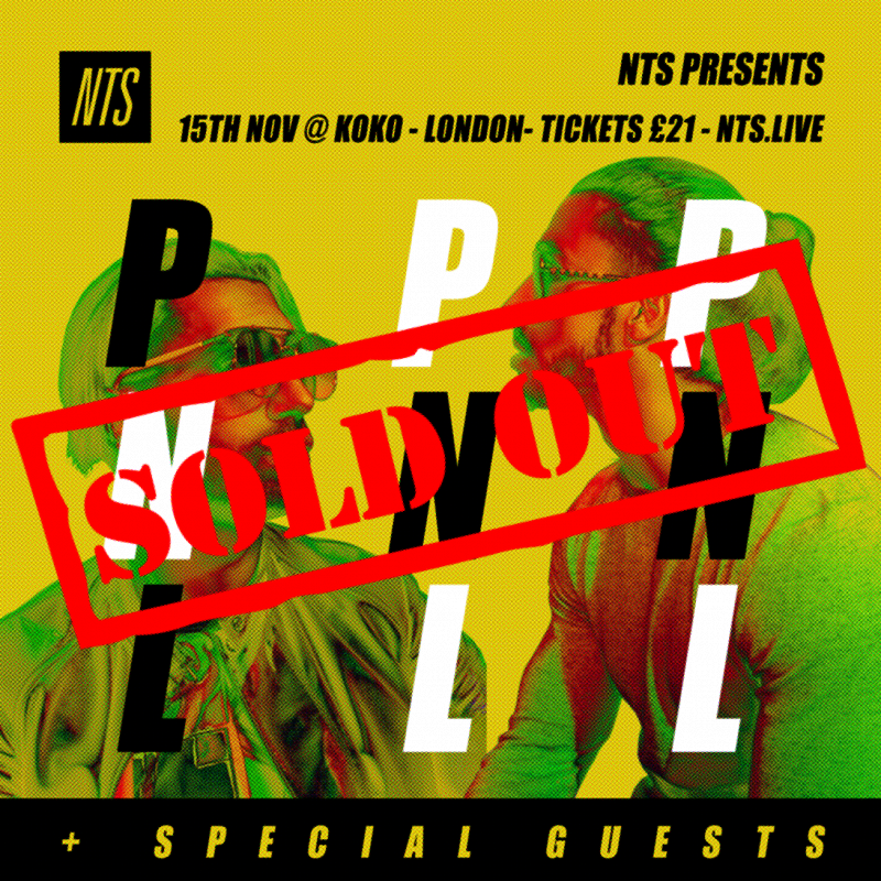 NTS Presents PNL events Image