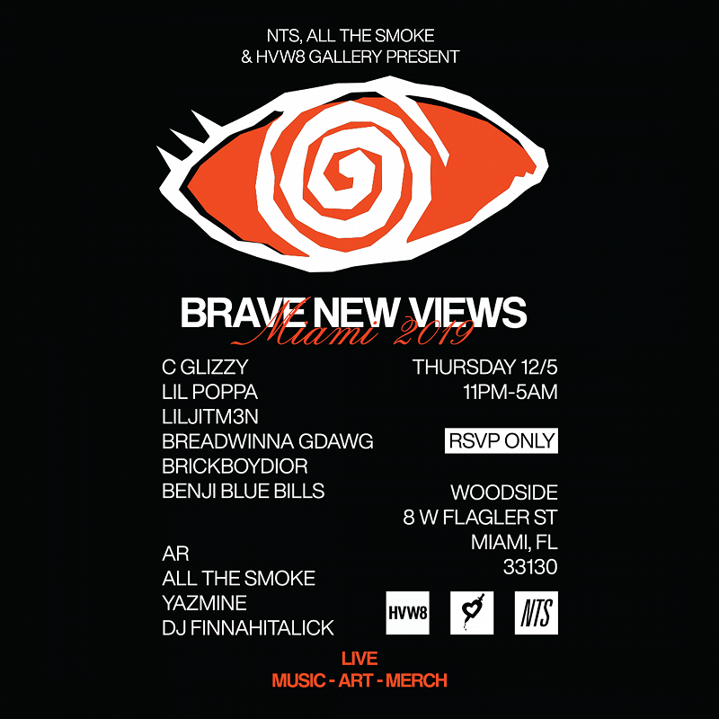 NTS, All The Smoke & HVW8 Present: Brave New Views Launch events Image