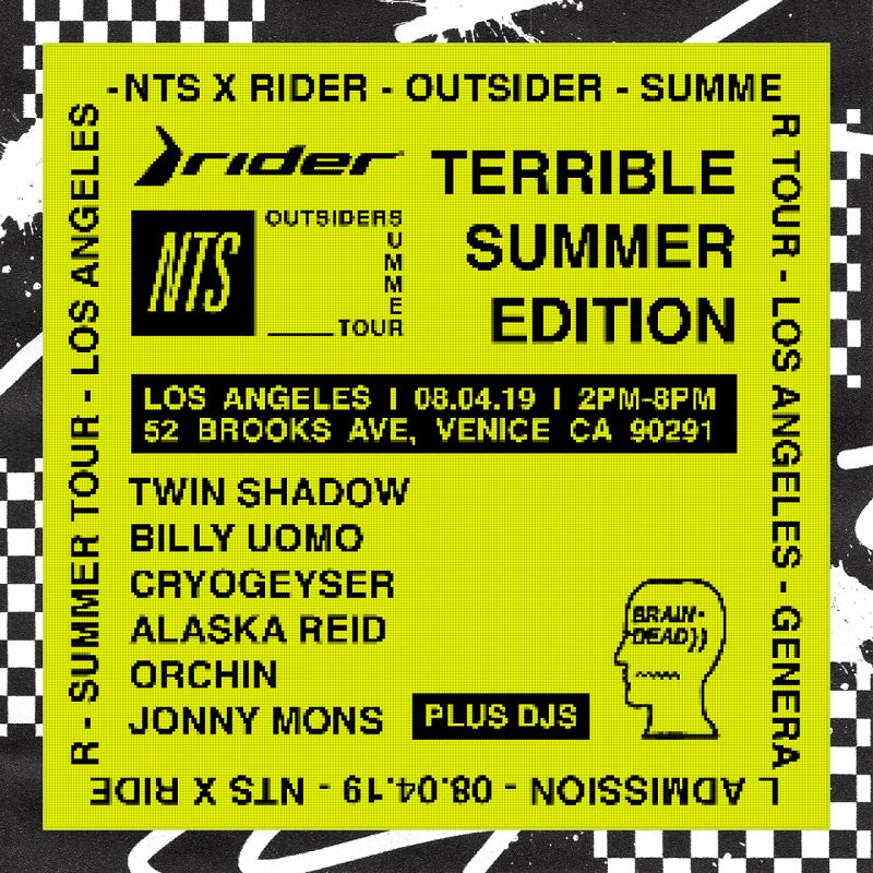 OUTSIDERS LOS ANGELES: TERRIBLE SUMMER EDITION events Image