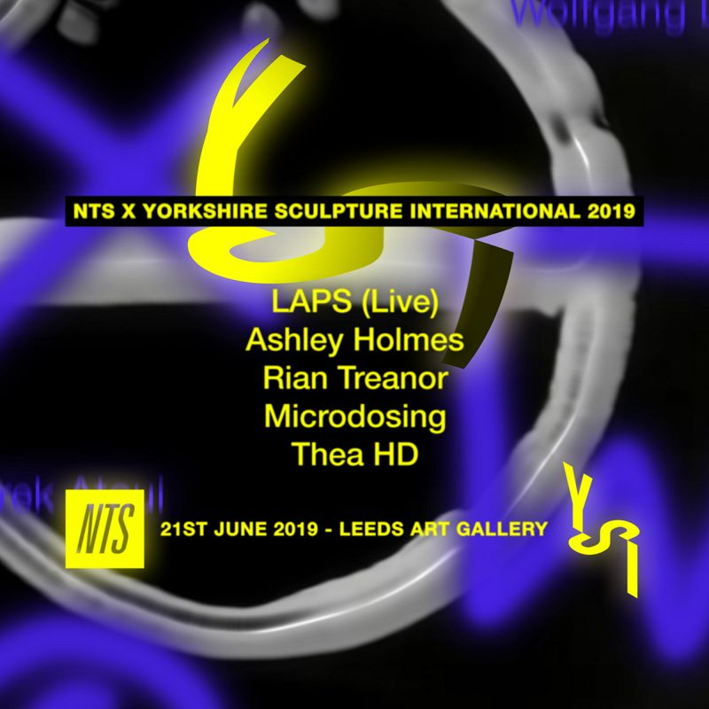 NTS x Yorkshire Sculpture International 2019 events Image