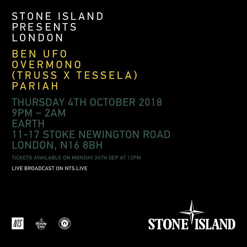 Stone Island Presents_London events Image