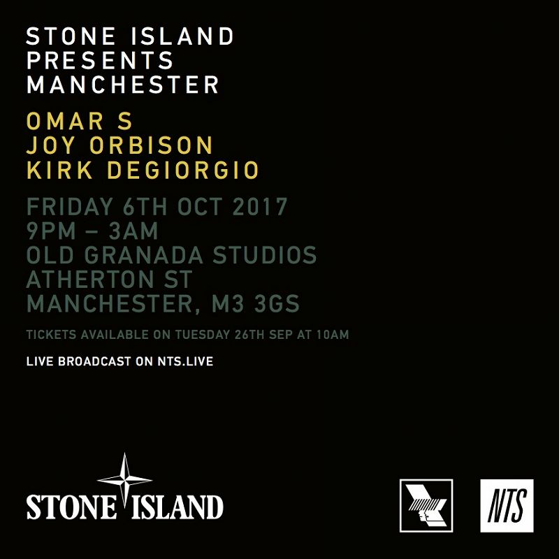 Stone Island Presents Manchester events Image
