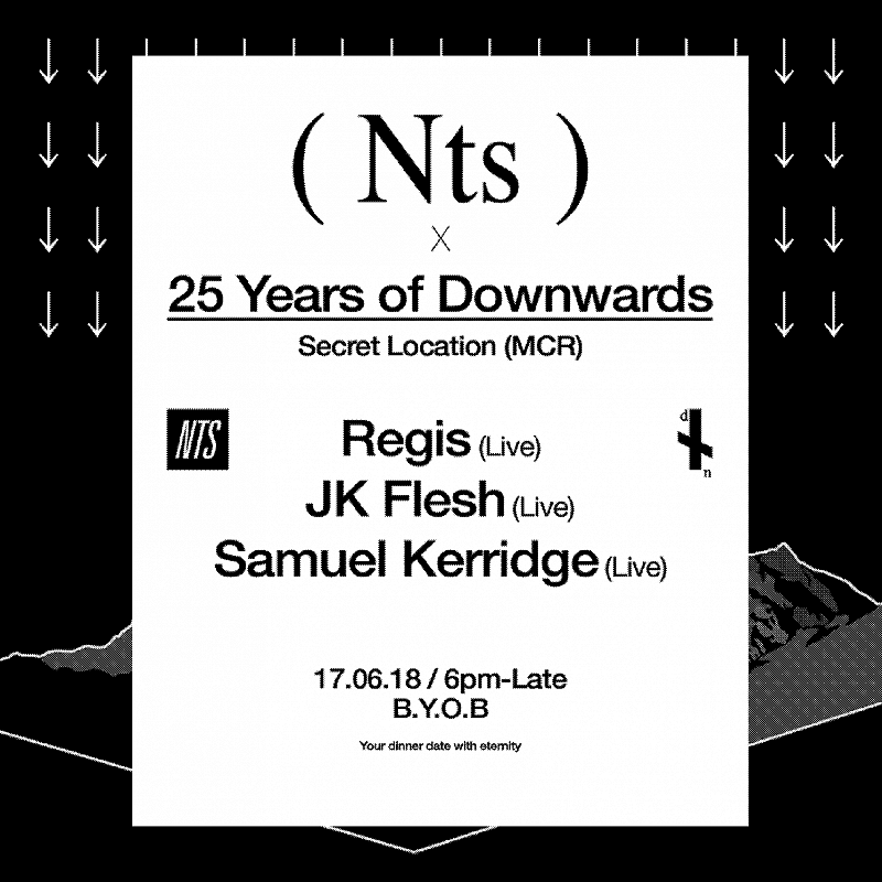 NTS x 25 Years of Downwards events Image