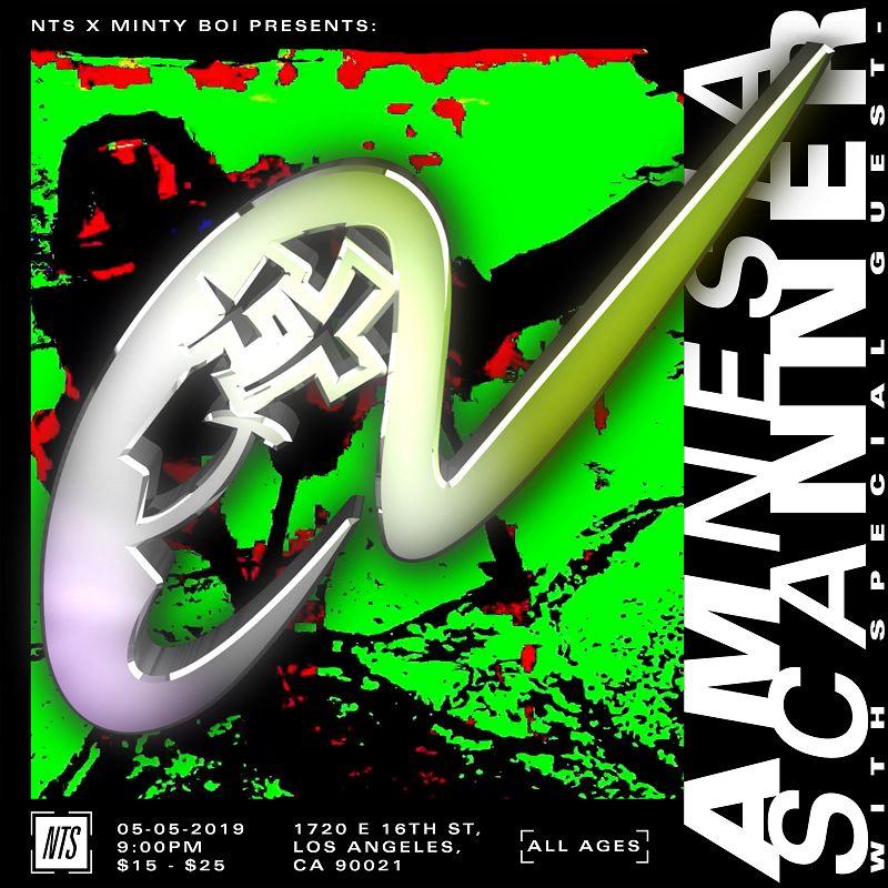 NTS X Minty Boi Present: Amnesia Scanner events Image
