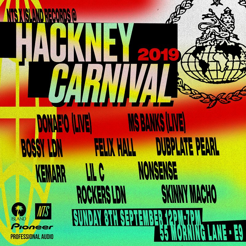 NTS x Island Records @ Hackney Carnival events Image
