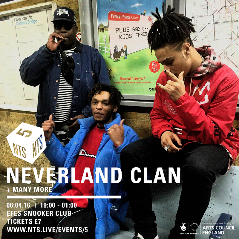 NTS is 5: Neverland Clan editorial Image