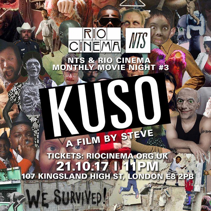 NTS & Rio Cinema: Kuso events Image