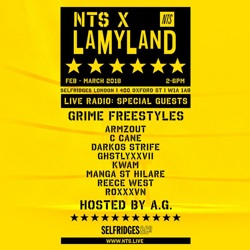 NTS X LAMYLAND events Image
