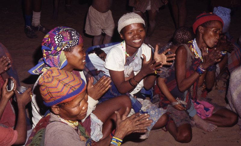 British Library Sound Archive - Ju|'hoansi healing songs from the Kalahari editorial Image