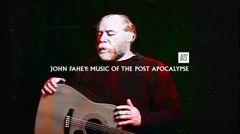 John Fahey: Music Of The Post Apocalypse editorial Image