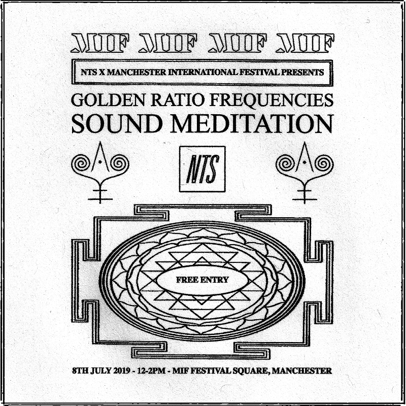 NTS x MIF: Golden Ratio Frequencies Sound Meditation events Image