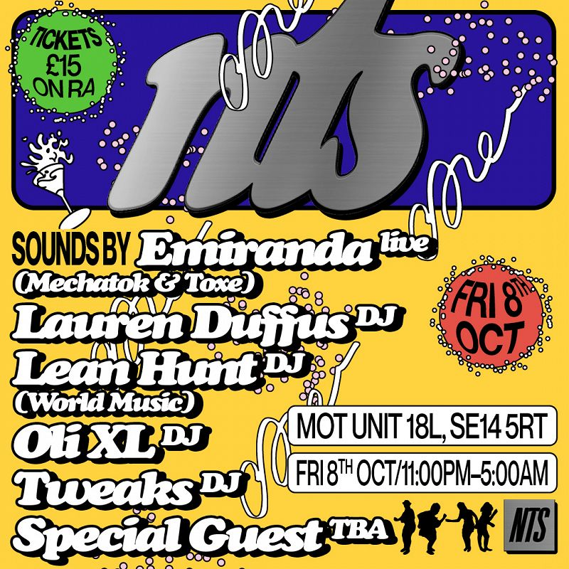 NTS @ Venue MOT events Image