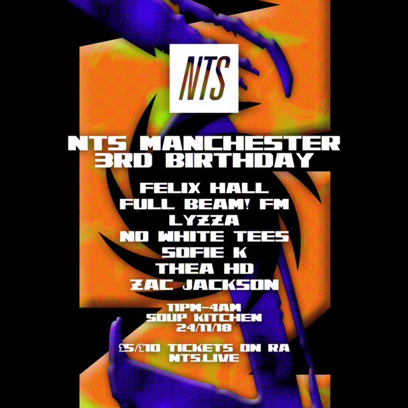 NTS Manchester 3rd Birthday events Image