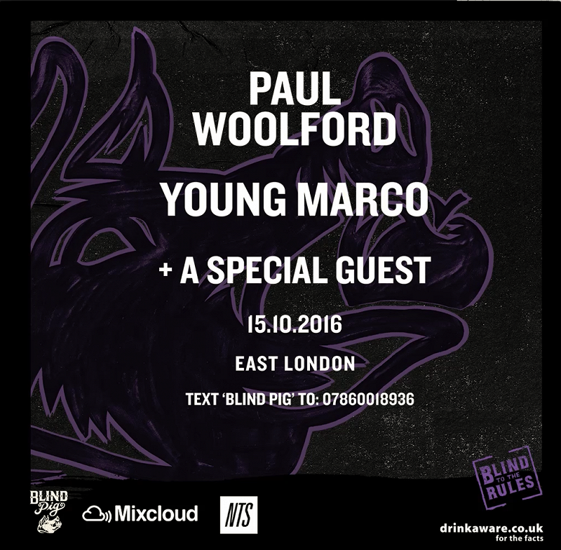 Paul Woolford, Young Marco & Special Guest events Image