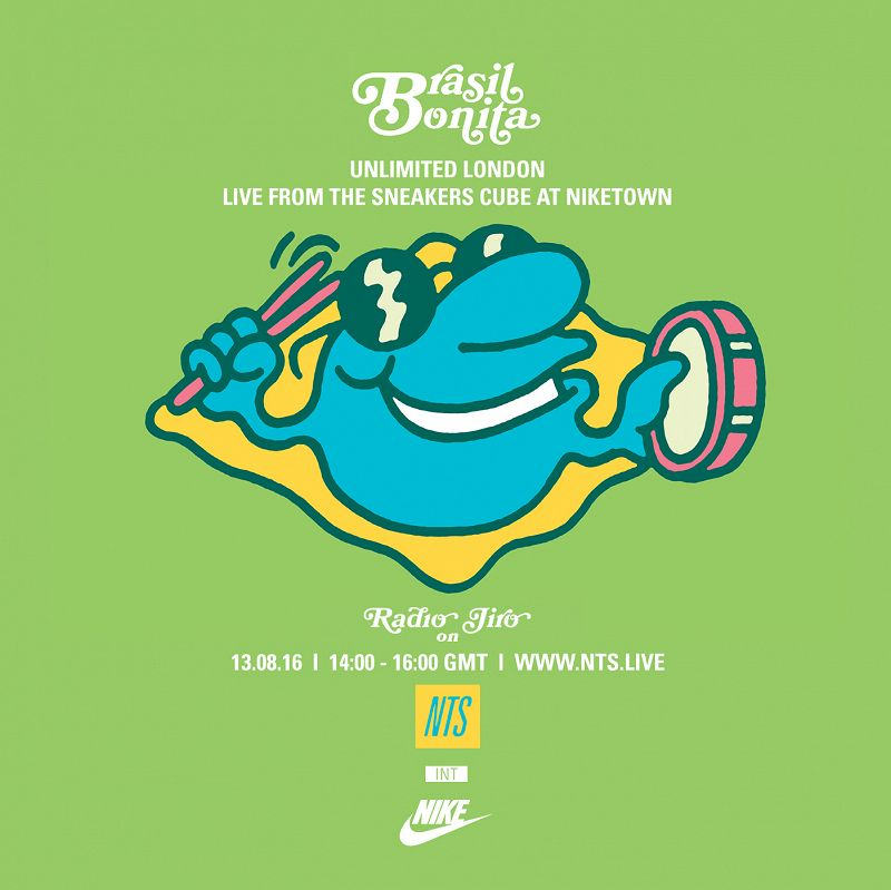 Unlimited London featuring Radio Jiro live from the Sneakers Cube at NikeTown editorial Image