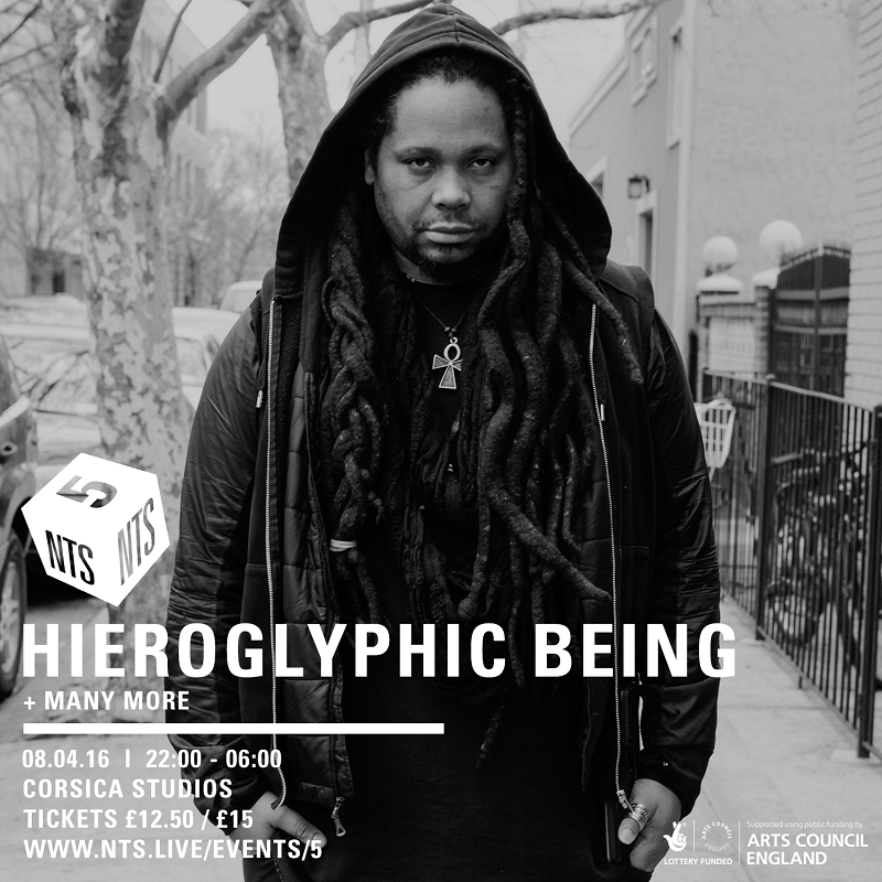NTS is 5: Hieroglyphic Being editorial Image
