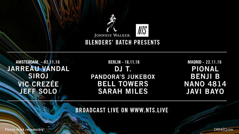 Johnnie Walker Blenders' Batch Presents editorial Image